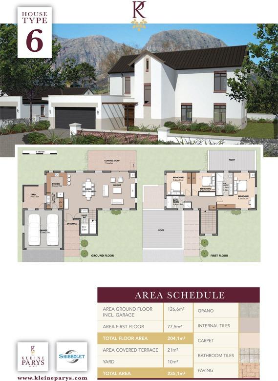 3 Bedroom House - Kleine Parys Estate No3 - Paarl