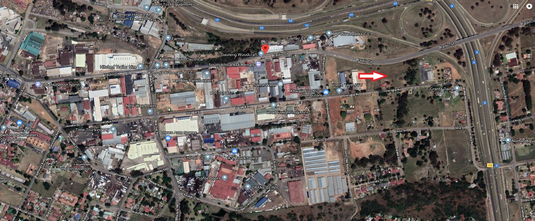 COMMERCIAL / INDUSTRIAL LAND FOR SALE, ALBERTON NORTH/ UNION!!!