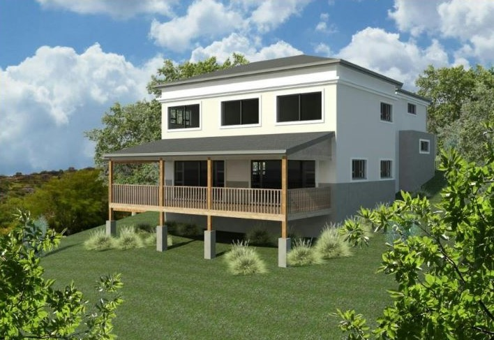 4 Bed  House in Seaward Estate - Plot and Plan