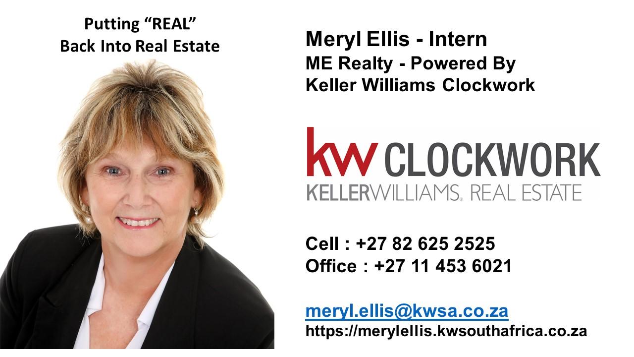 Real Estate Agent - Meryl Ellis