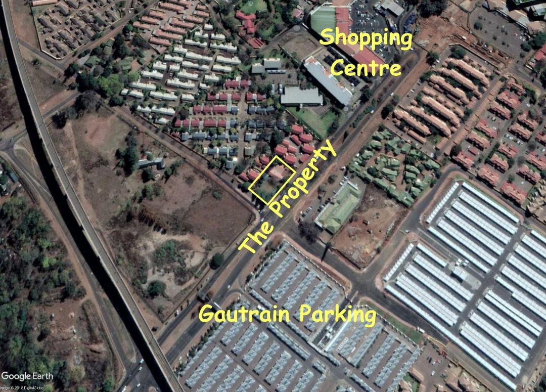 Commercial property for sale - Prime location! - Negotiable - Opposite Gautrain station