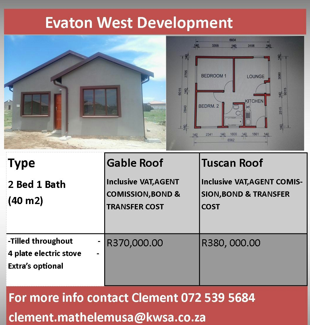 House For Sale In Evaton West