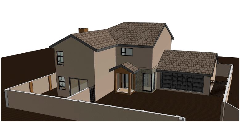 Brand new 3 bedroom in Estate close to main routes