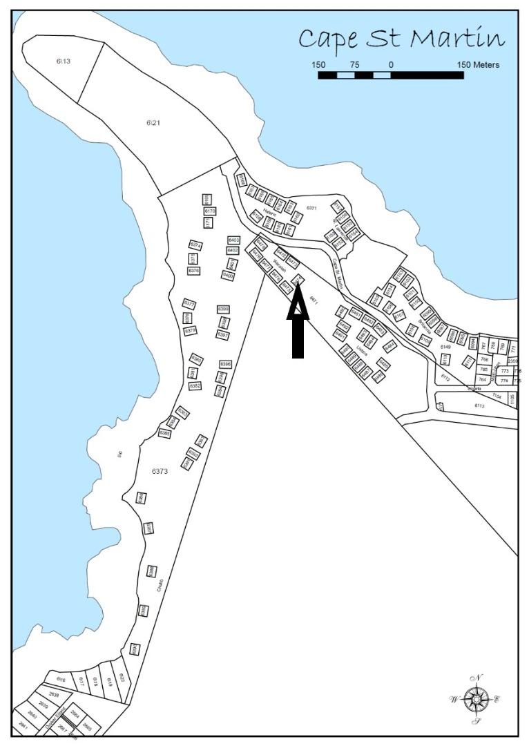 Vacant plot in Cape St Martin