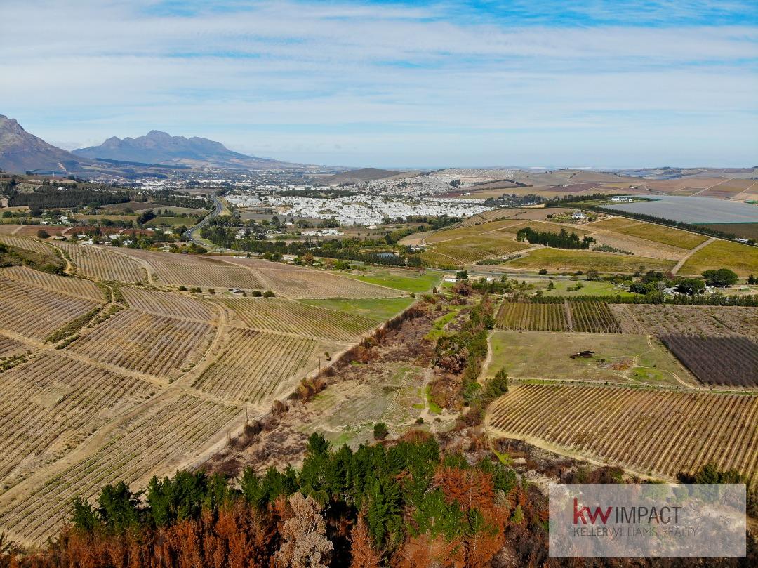 Vacant land in prime position, Stellenbosch