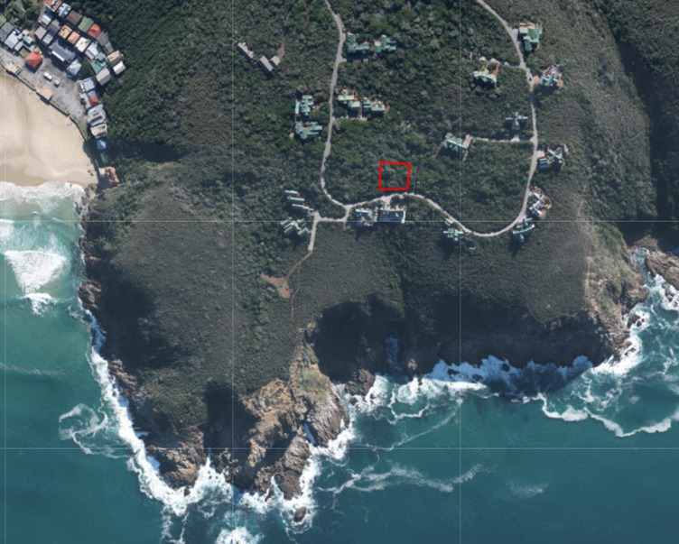 922 m² Vacant stand for sale in Monate Eco Resort, Herolds Bay