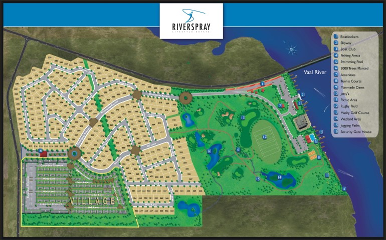 Vacant Land For Sale in Riverspray Lifestyle Estate