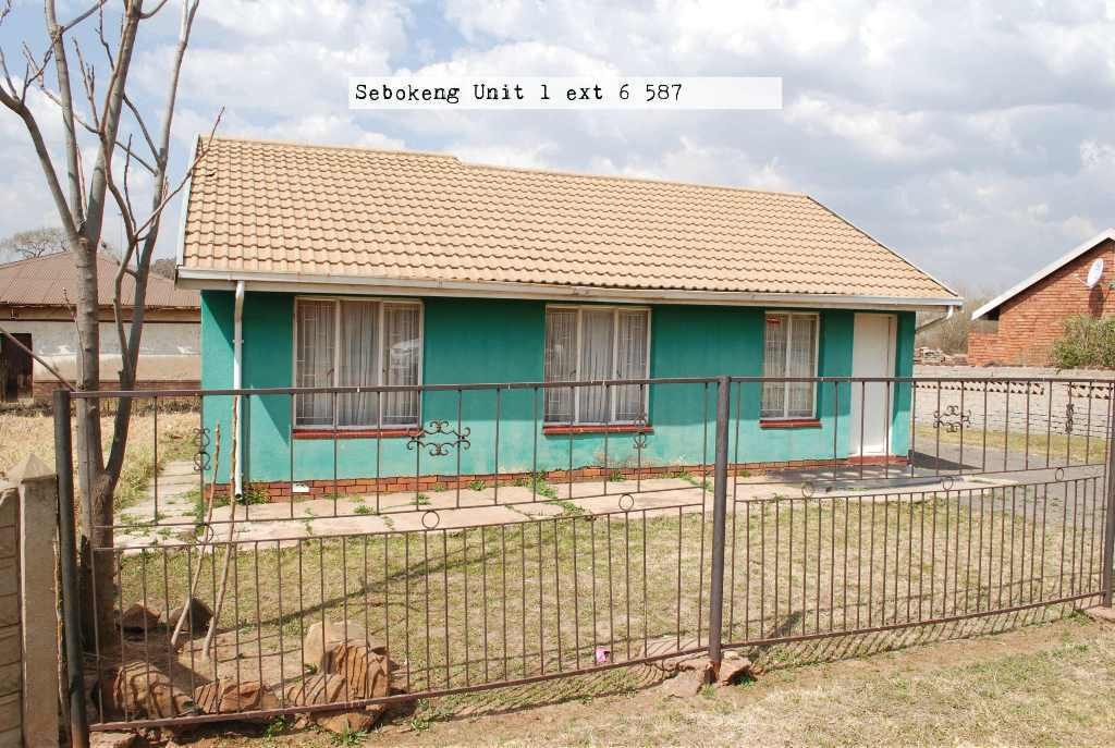 2 BedroomHouse For Sale In Sebokeng