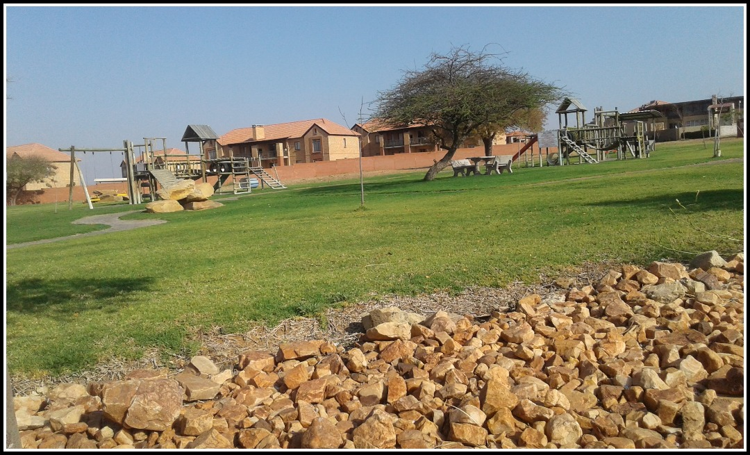 Vacant land at a secure estate