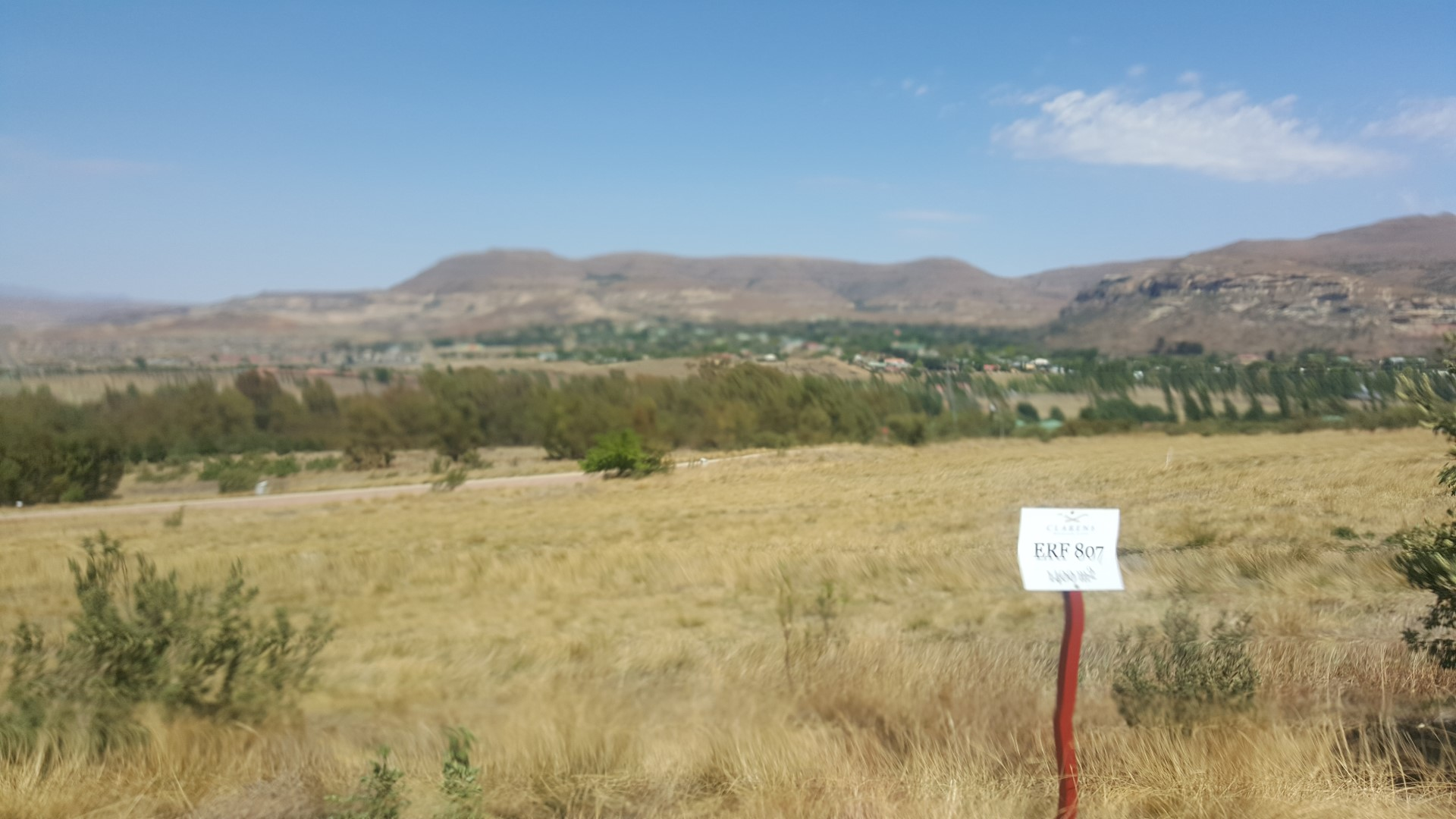 Small Holding For Sale In Clarens