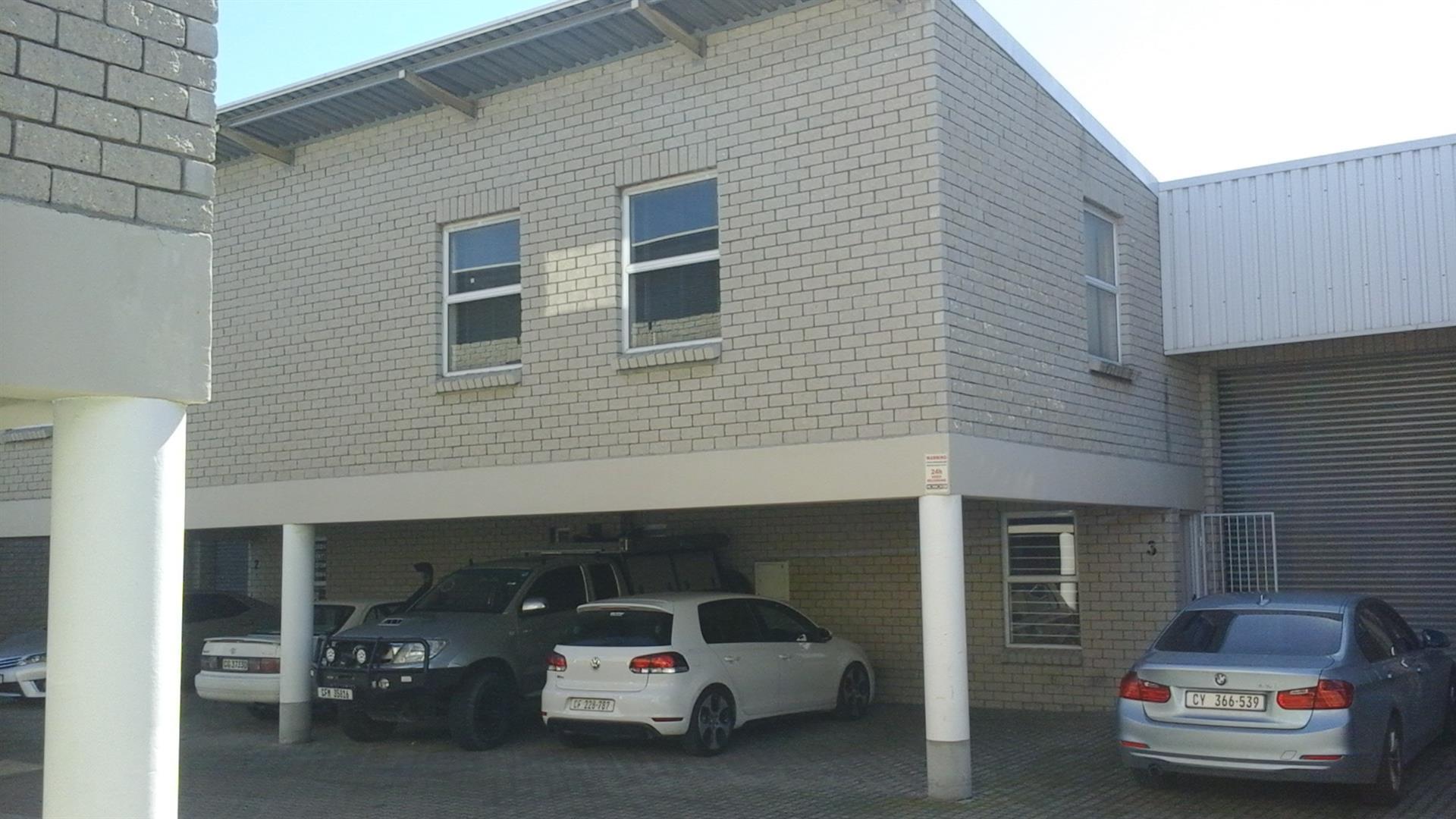 187 m2 Sectional Title Factory FOR SALE Saxenburg Park 2 Blackheath @ R 7 320 m2 = R 1 368 840 + VAT