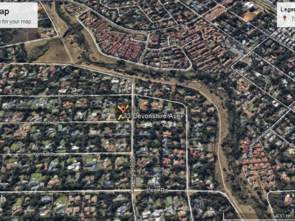 Ready to develop in sought after area in Bryanston!!