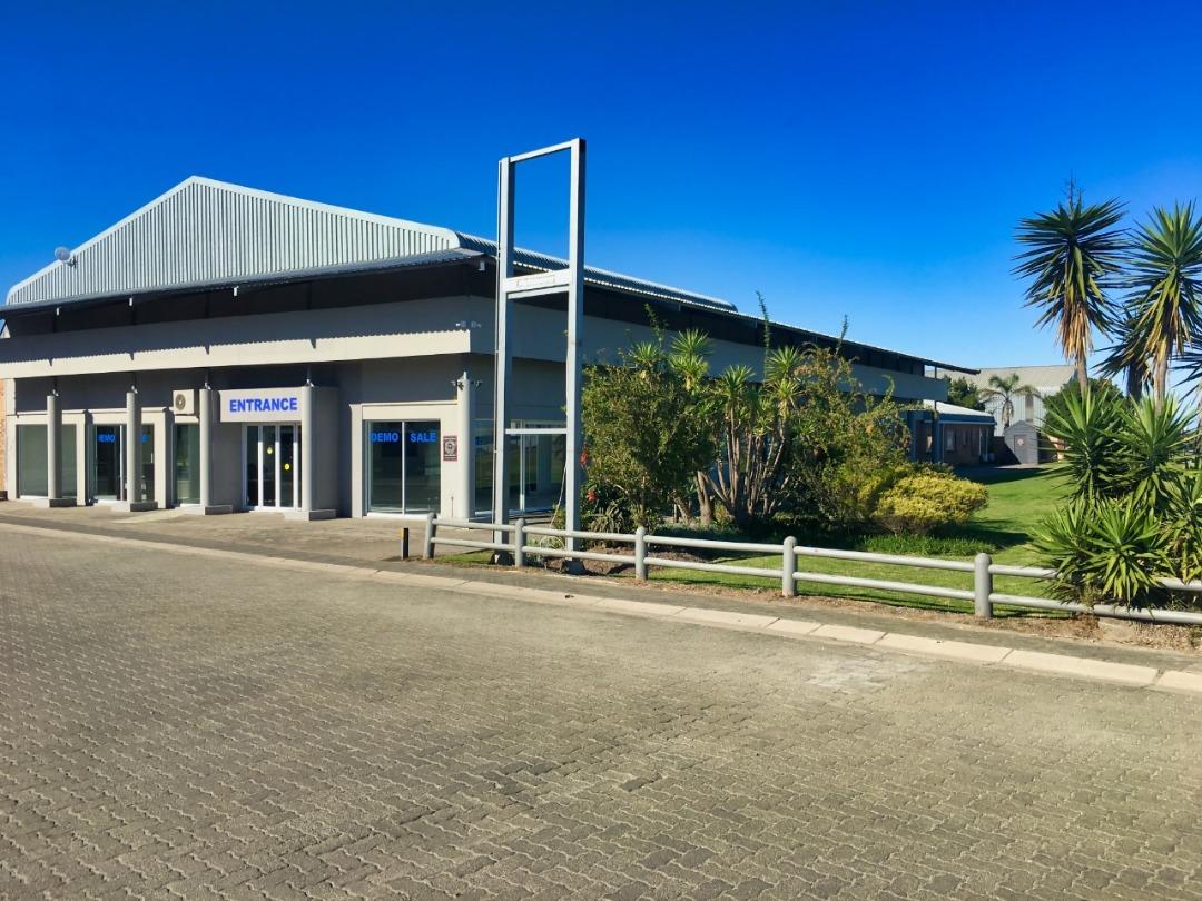 Very presentable  Motor showroom building